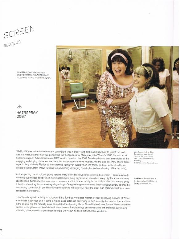 Hairspray 2007 film review (1)